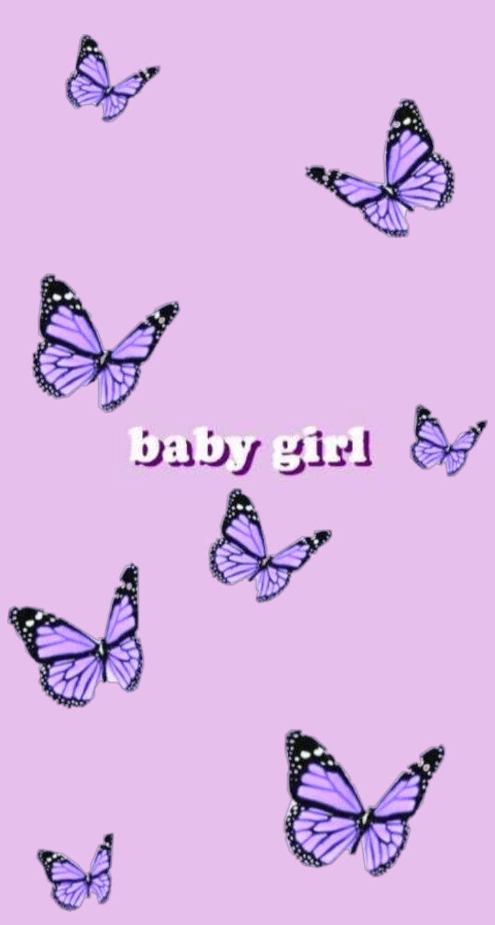 Babygirl Wallpaper In 2020 Butterfly Wallpaper Iphone Edgy Wallpaper Iphone Wallpaper Tumblr Aesthetic
