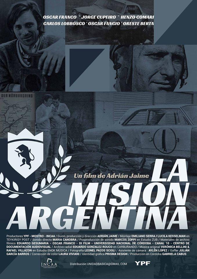 LA MISIÓN ARGENTINA (Argentina; 2014) Dirección: Adrián Jaime. Género: Documental. #CineArgentino