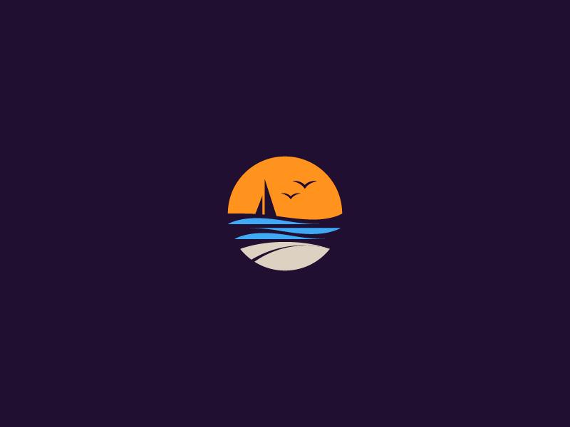 Beach Icon Beach Icon Graphic Design Logo Logo Design Creative
