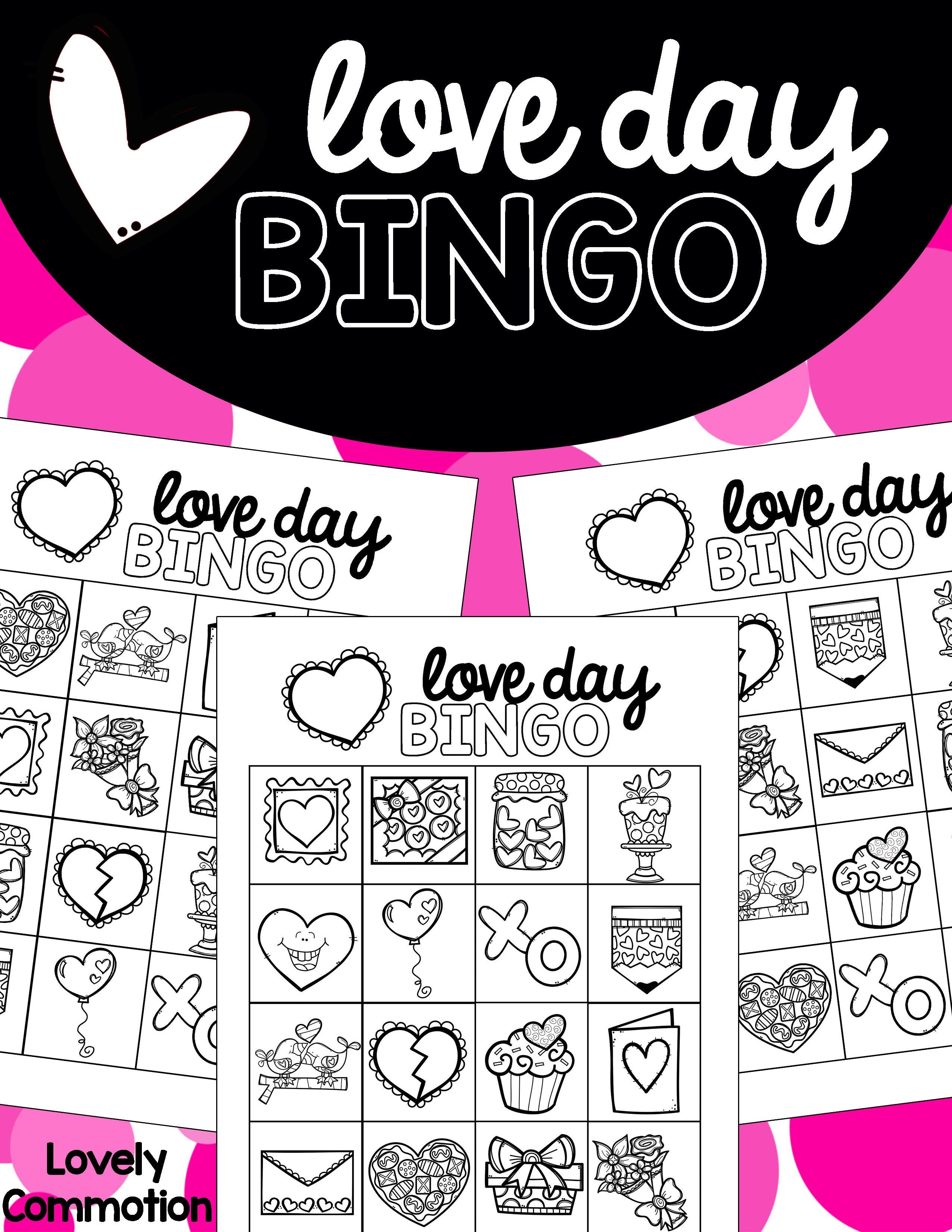 Free Valentine S Day Bingo For Preschool