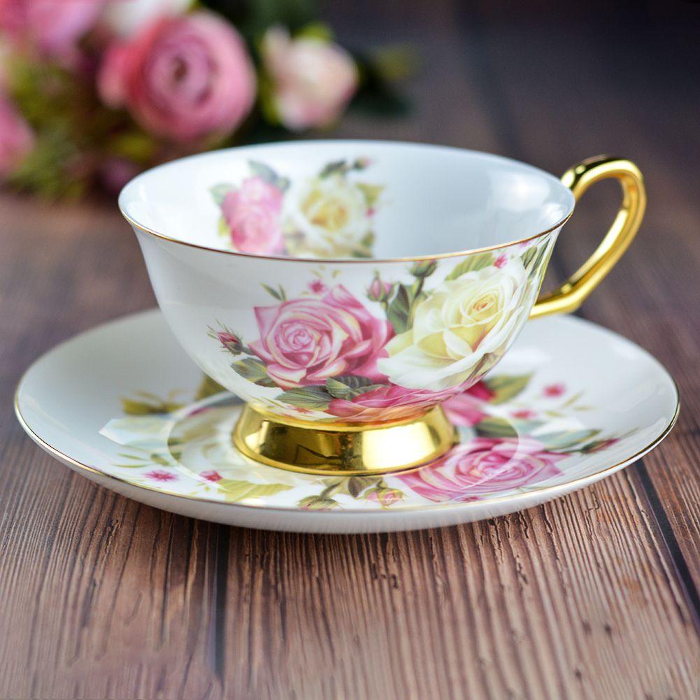 European style ceramic tea cup #teacups