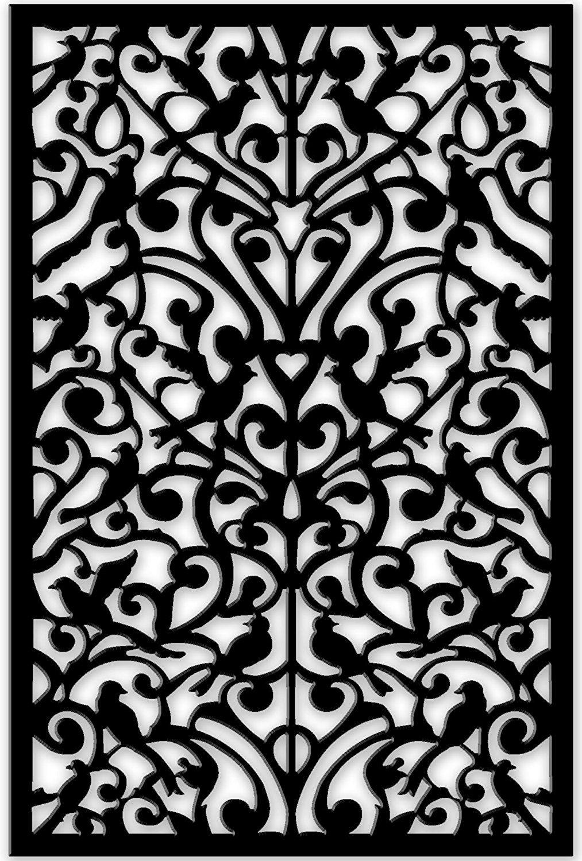 Garden decor trellis  Amazon  Acurio IDBKGND Lattice Ginger Dove Panel Screen