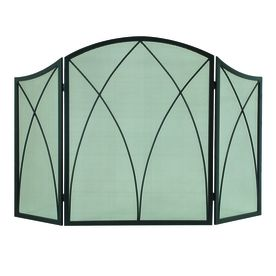 Style Selections Arched Screen Metal Fireplace Screen Lowe S