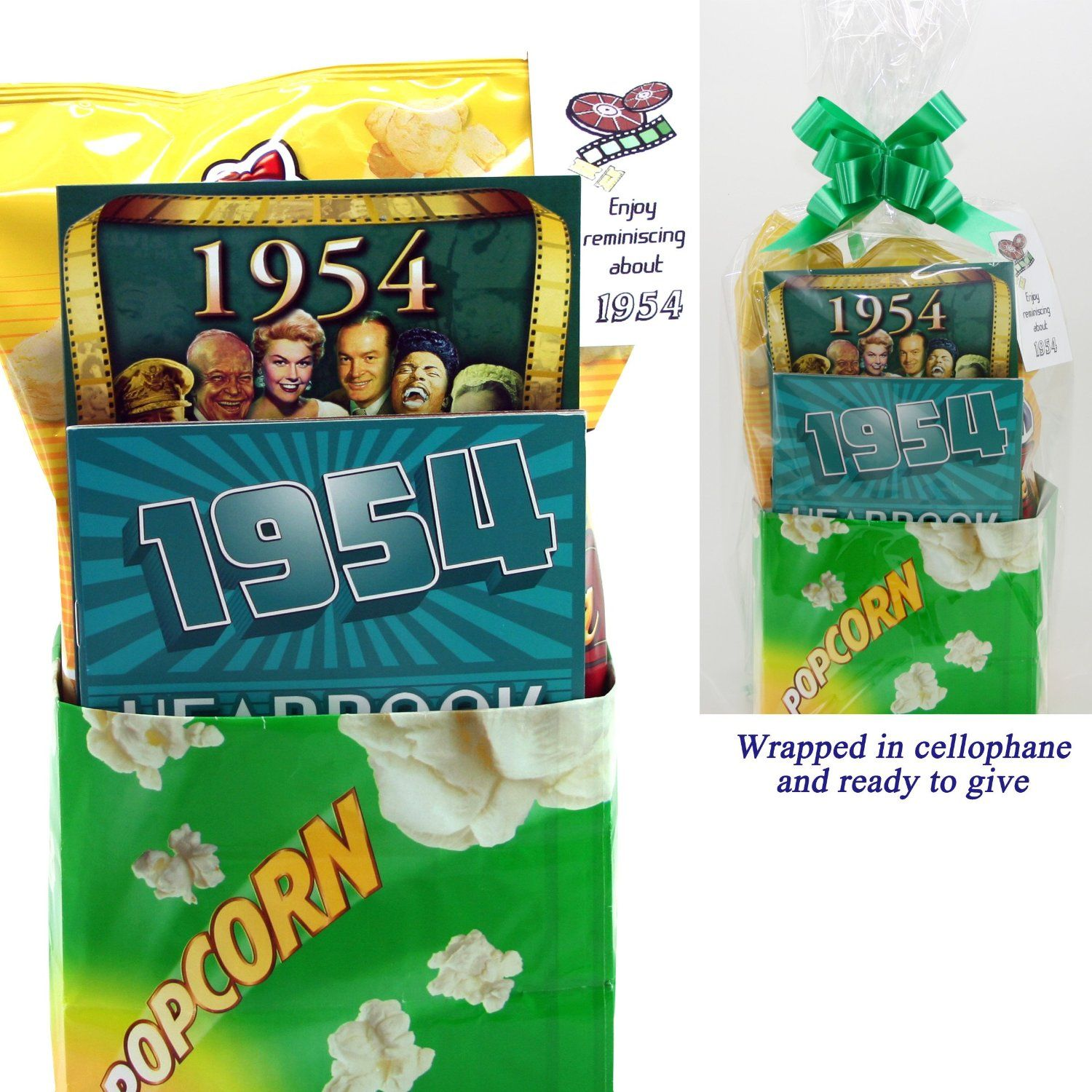 1954 Movie Night Package 60th Birthday Gift or 60th