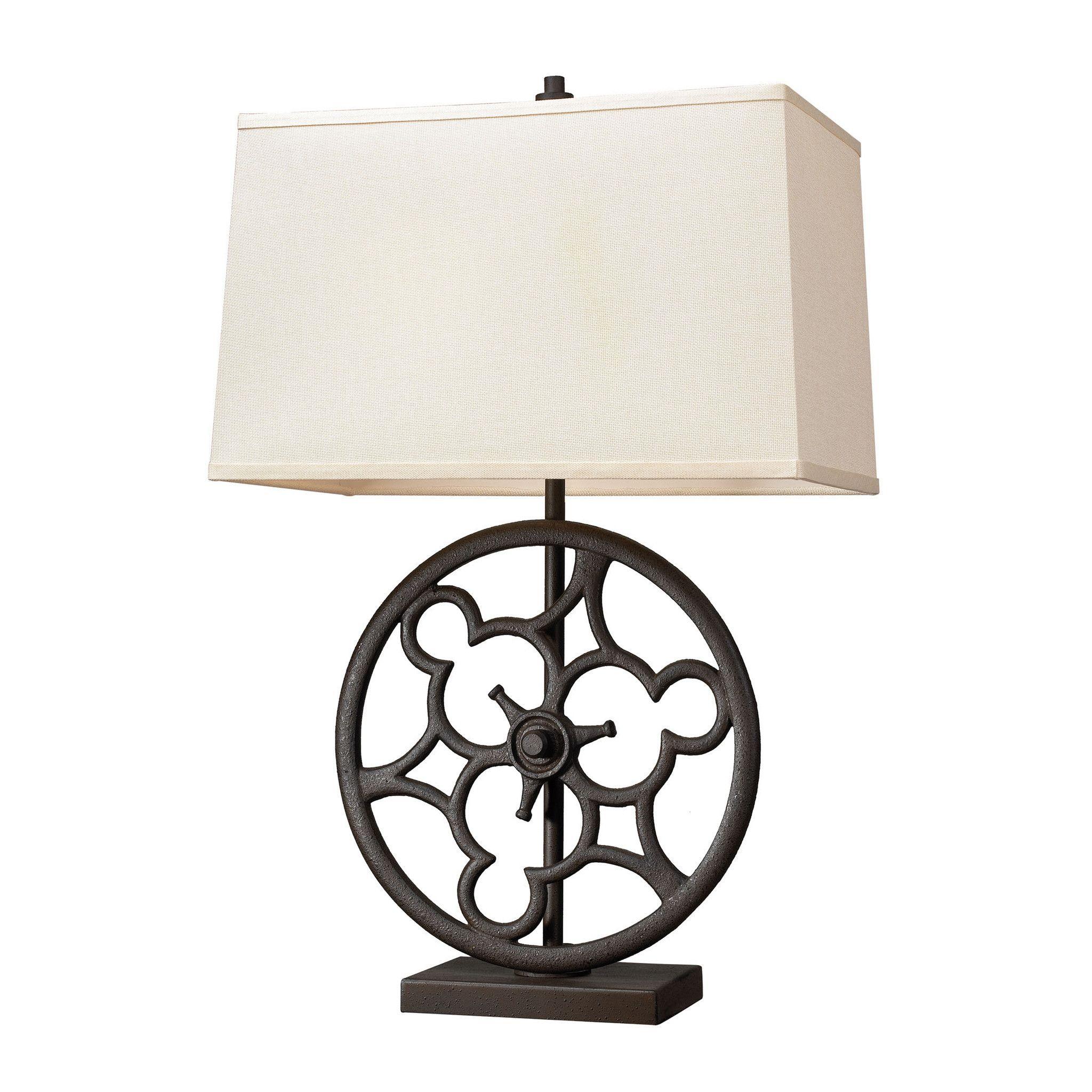 Ironton 2 light table lamp in vintage rust products pinterest ironton 2 light table lamp in vintage rust aloadofball Images