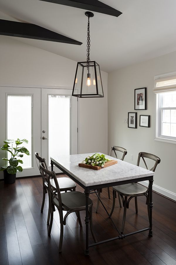 a luxe home makeover by jws interiors crate and barrel crates and breakfast nook table. Black Bedroom Furniture Sets. Home Design Ideas