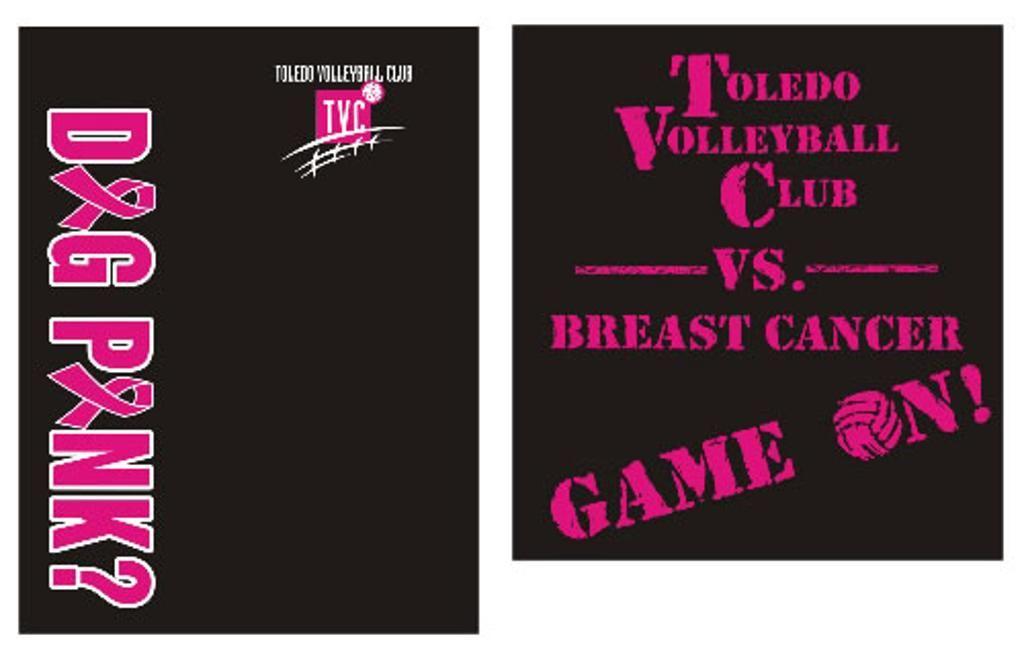 28d5587b Dig Pink T-shirt Design Contest Winner Announcement | Toledo Volleyball Club