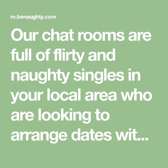 Chat rooms flirty