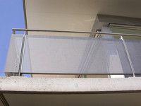 sichtschutz lochblech garten balkon, balkon-geländerfüllung aus lochblech | balkon | pinterest, Design ideen