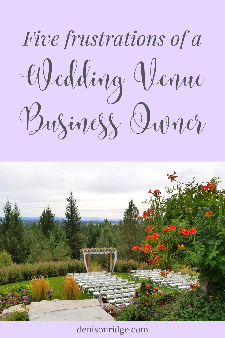 5 Frustrations Of A Wedding Venue Start Up In 2020 Event Planning Business Wedding Venues Wedding Business