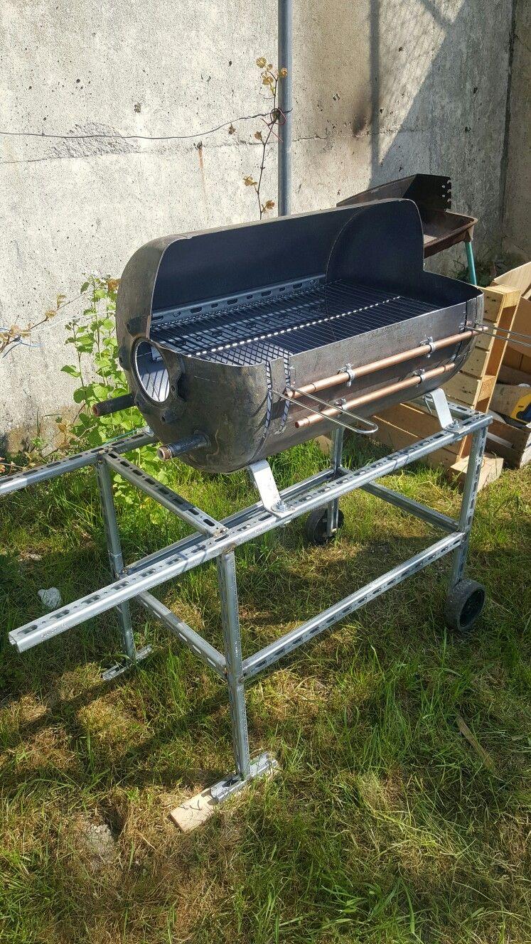 Barbecue | Ballon eau chaude, Chauffe eau, Fabriquer barbecue