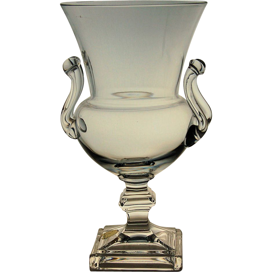 Mcm vintage duncan miller vase crystal grecian urn mid century mcm vintage duncan miller vase crystal grecian urn mid century modern design from antik avenue on reviewsmspy