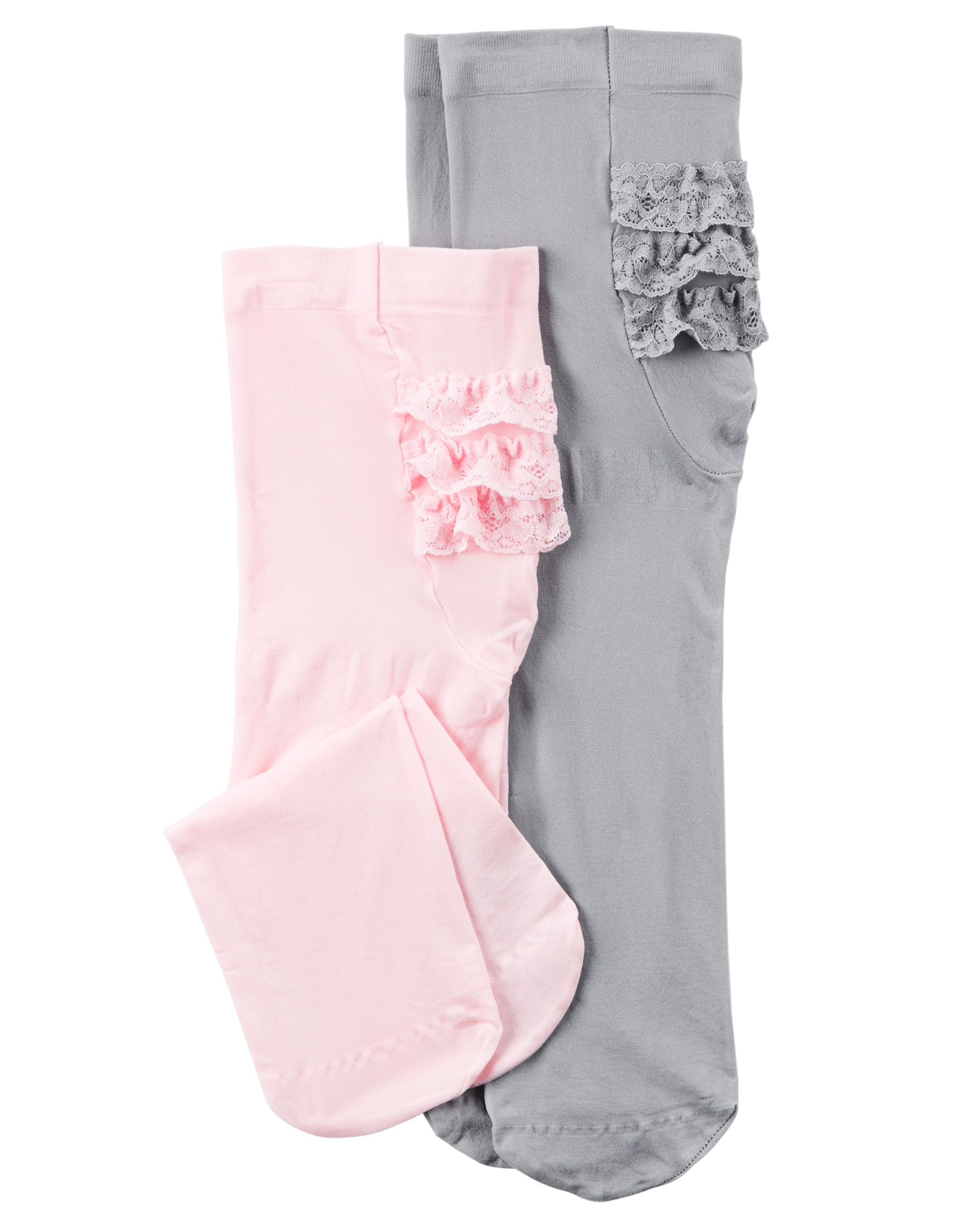 30cf1bca96ba0 Baby Girl 2-Pack Tights from Carters.com. Shop clothing & accessories from  a trusted name in kids, toddlers, and baby clothes.
