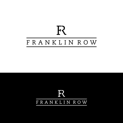 Franklin Row Creative Logo For A Real Estate Development Project In Washington Dc This Will Be A Creative Logo Logo Design Real Estate Development Projects
