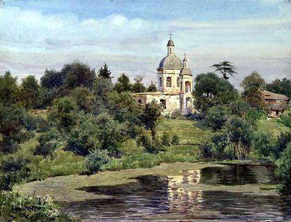 Акварельные пейзажи художника Сергея Андрияки