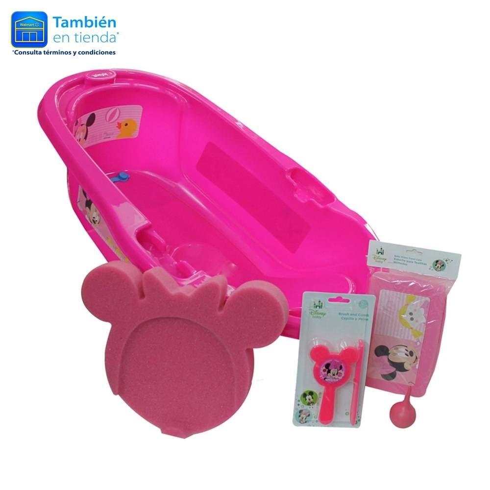 COMPRA en Walmart Bañera Infanti Disney Rosa con accesorios Tienda c452883ec4c