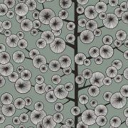 Papier peint Cotton Tree gris – Kinfolk – MissPrint