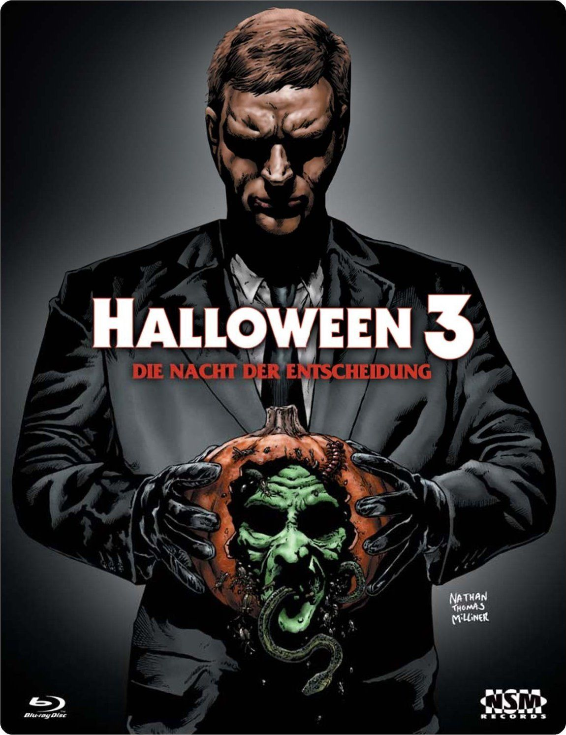 Halloween 3 Blu-ray: Uncut, Limited Edition, 3D Lenticular Cover ...
