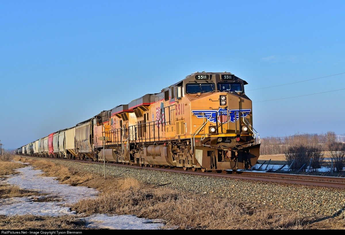 RailPictures Net Photo: UP 5511 Union Pacific AC45CCTE at