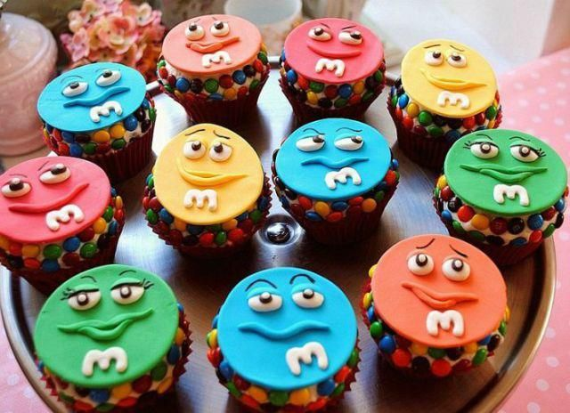 MM Cupcakes Foodie Pinterest Birthdays Cake and Designer cakes