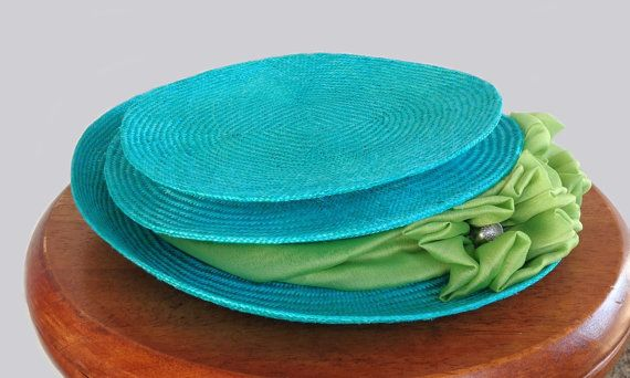 Lily parasisal millinery hat packable travel hat by LuminataCo