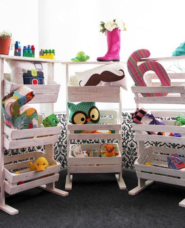 10 pr cticos jugueteros para el cuarto de los ni os organizaci n kinderzimmer kinder zimmer - Baby jungenzimmer ...