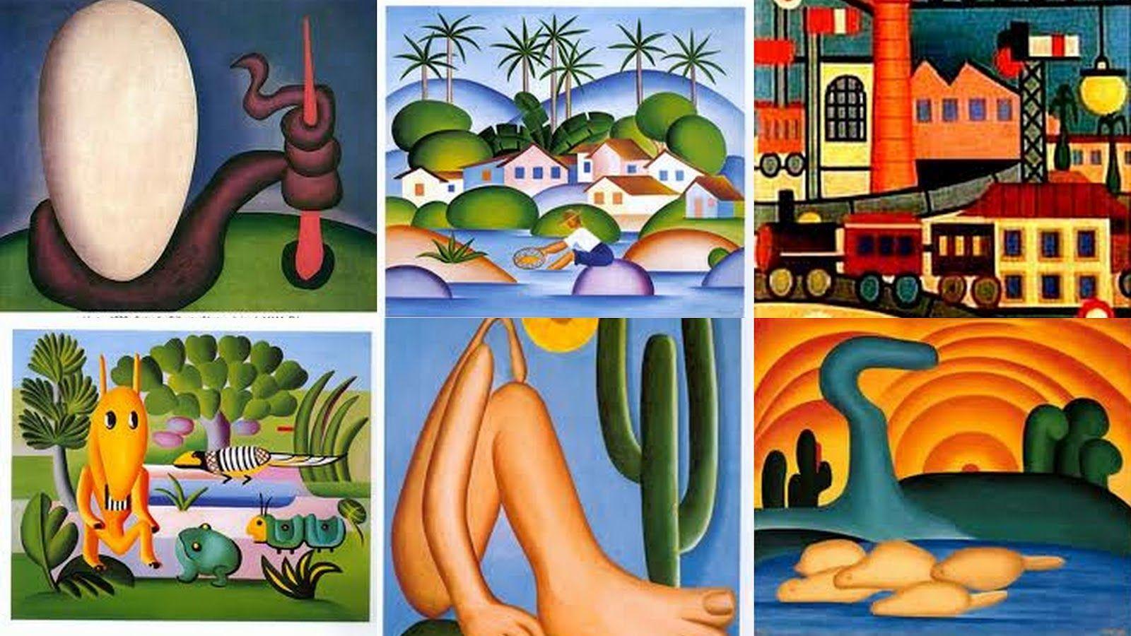 Imagem Pinturas Tarsila Do Maral Pesquisa Google Atividades De