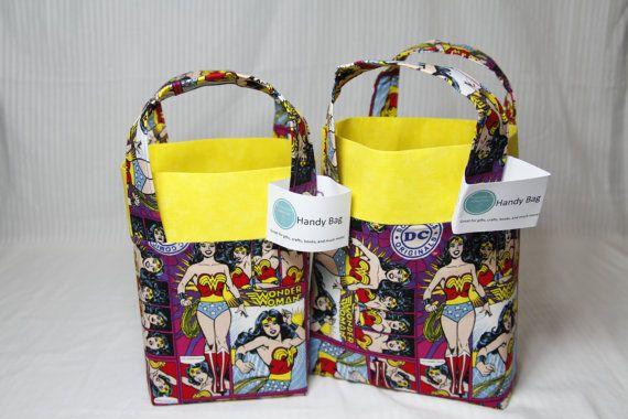 Wonder Woman  Handy Bags by DaydreamersEmporium on Etsy
