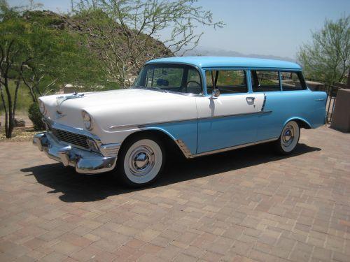 1956 Chevrolet Handyman 150 Wagon American Classic Cars Classic Cars Chevrolet