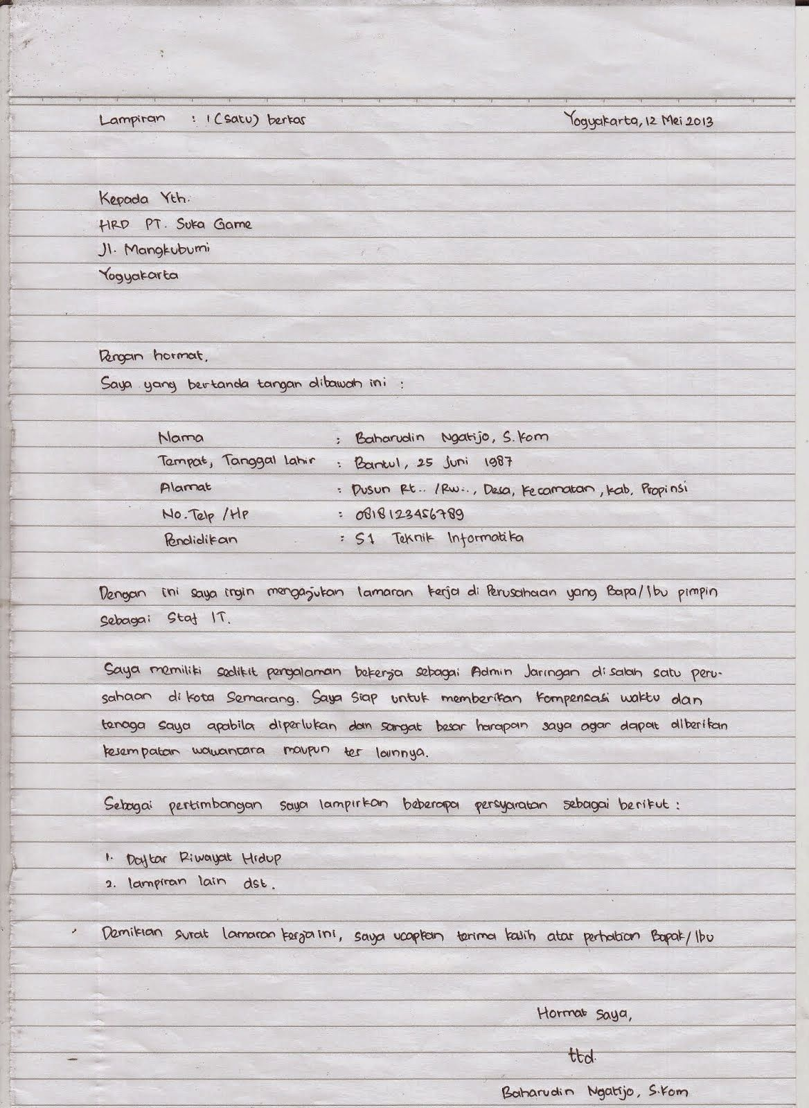 Contoh Makalah Tulis Tangan Di Folio Download Contoh Lengkap Gratis