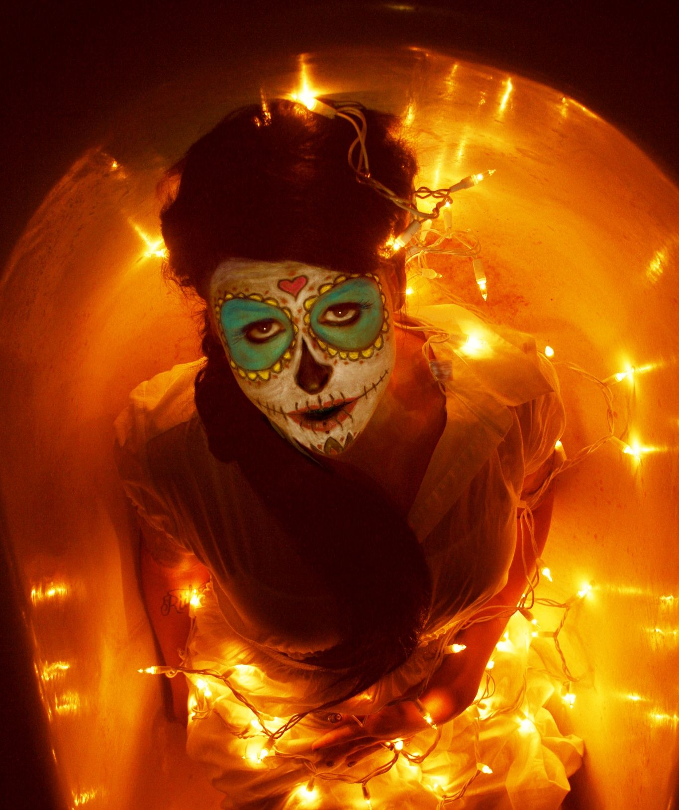 Mexican Ophelia I model: Maegan Machler  I photographer: Jennifer Ballard, Wilmington, NC