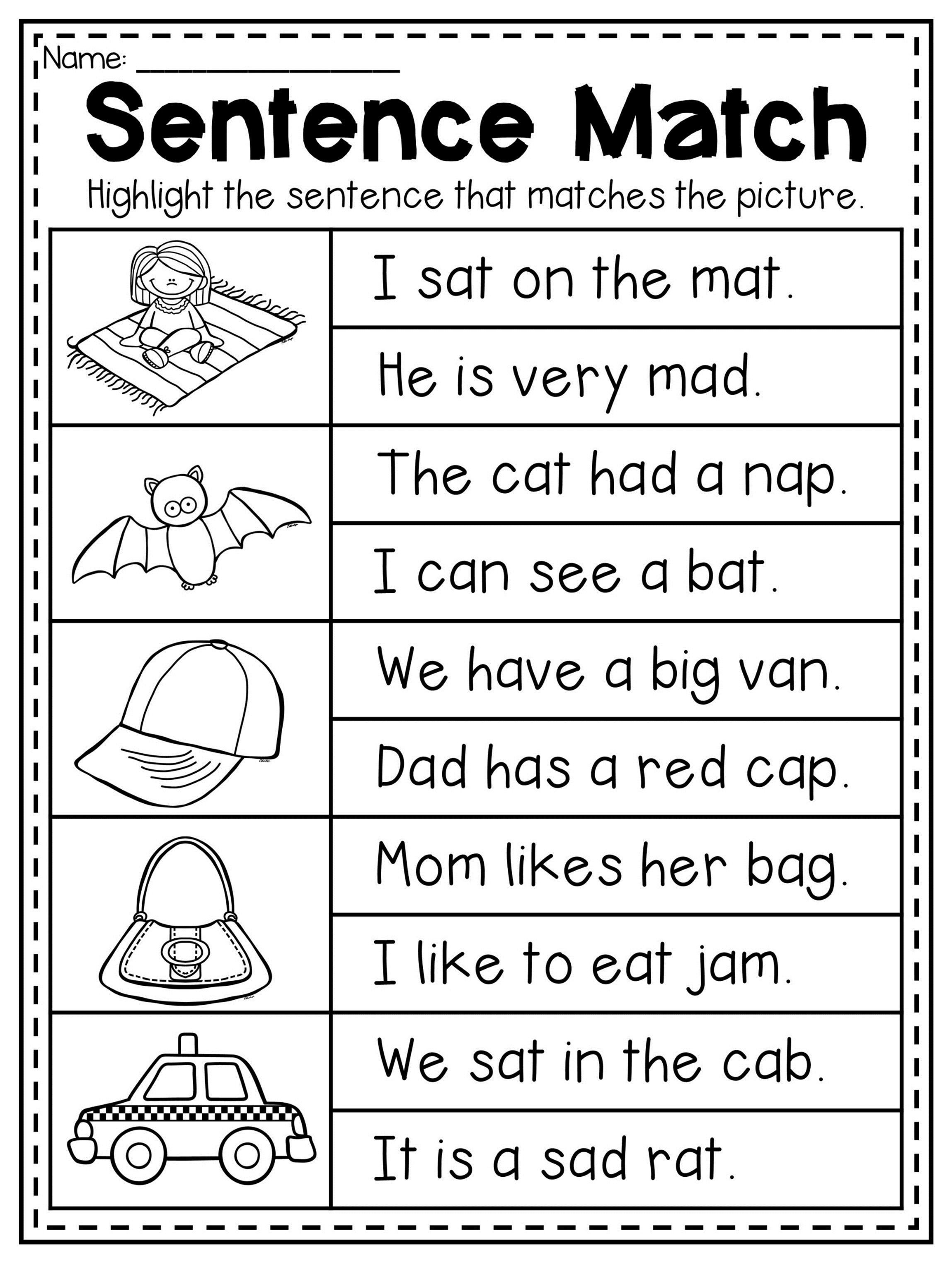 Mega CVC Worksheet Pack - Pre-K Kindergarten - Distance Learning    Kindergarten reading worksheets [ 3047 x 2297 Pixel ]