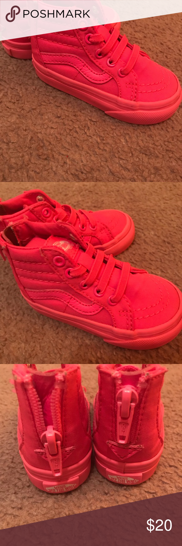 f6db707ca5 Spotted while shopping on Poshmark  Hot Pink Vans size 4!  poshmark  fashion
