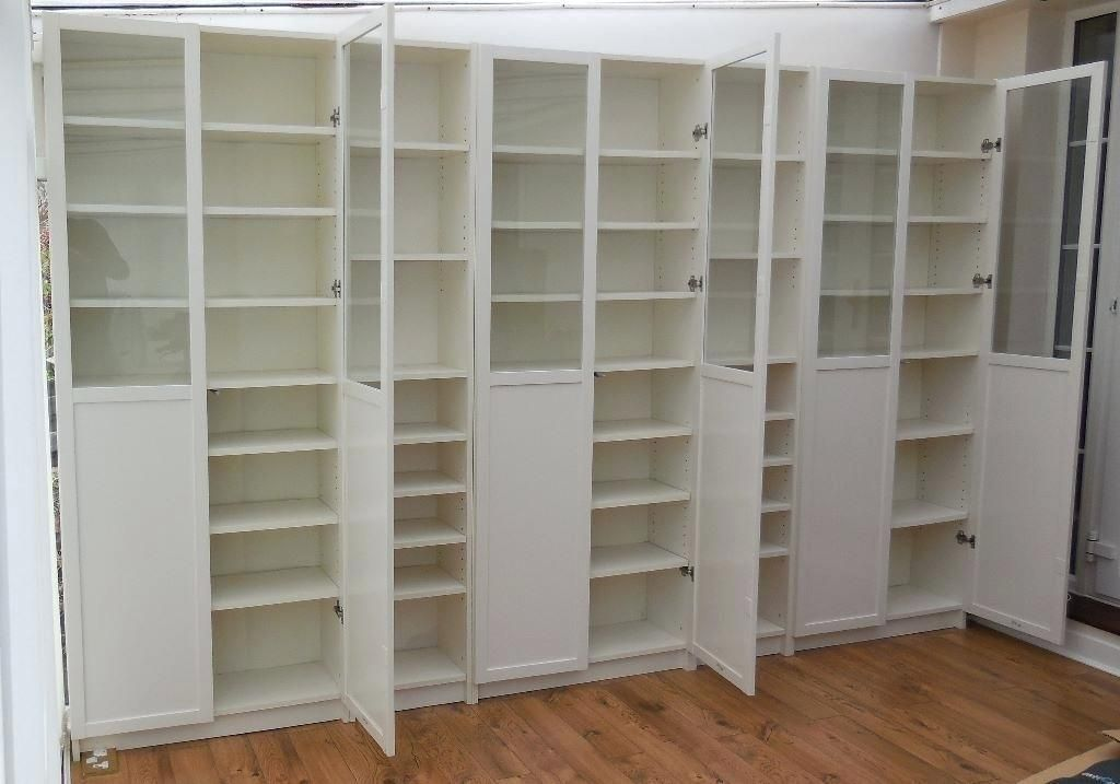 Billy Bookcase With Doors White Billy Bookcases With White Panel
