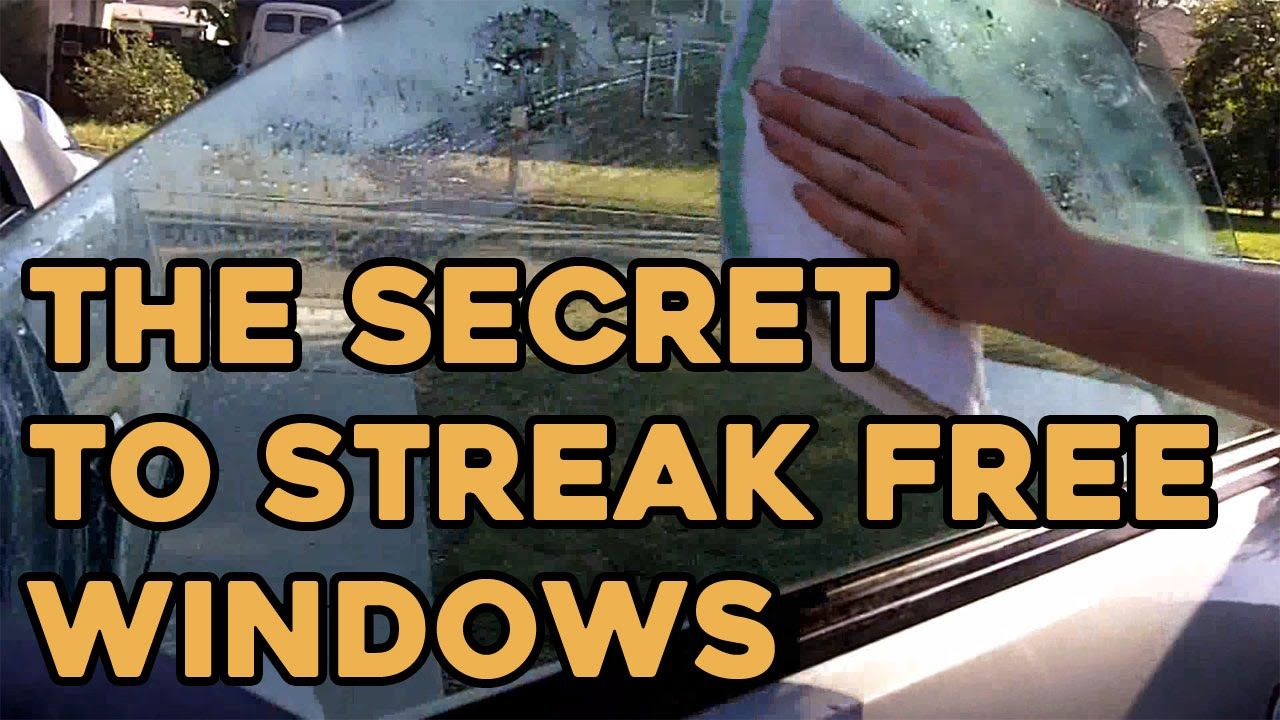 The Secret to Streak Free Windows! Streak free windows
