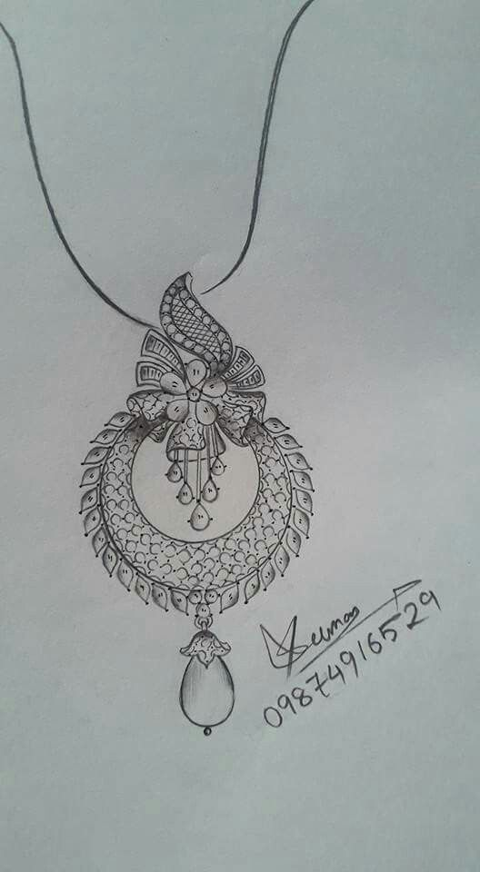 Pin By Dharmishtha On Embroidery Jewelry Design Drawing