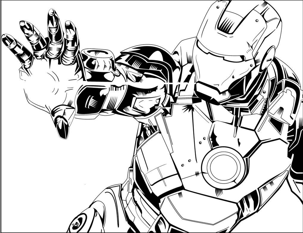 Ironman Inked Iron Man Drawing Iron Man Comic Iron Man