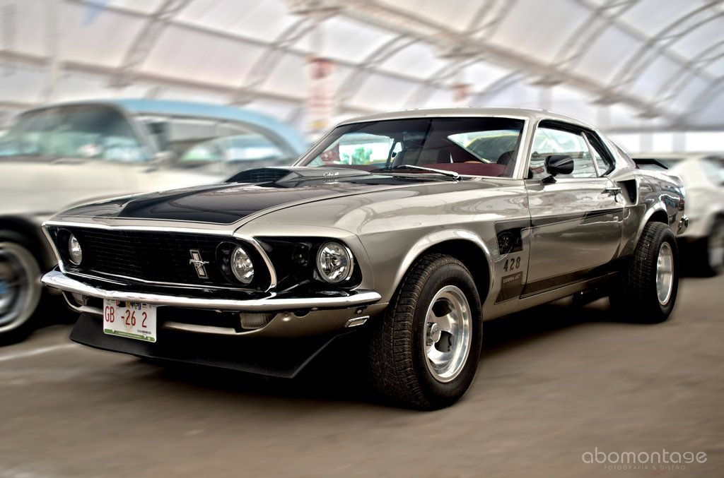 Ford Mustang 1969 428 By Abomontage Deviantart Com On