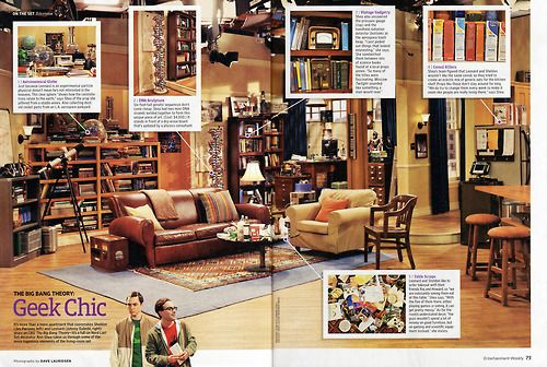 Leonard And Sheldon S Apartment The Bang Theory