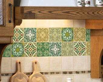 ceramic tile decals bathroom tile wall decal kitchen bathroom moroccan tile by 17640