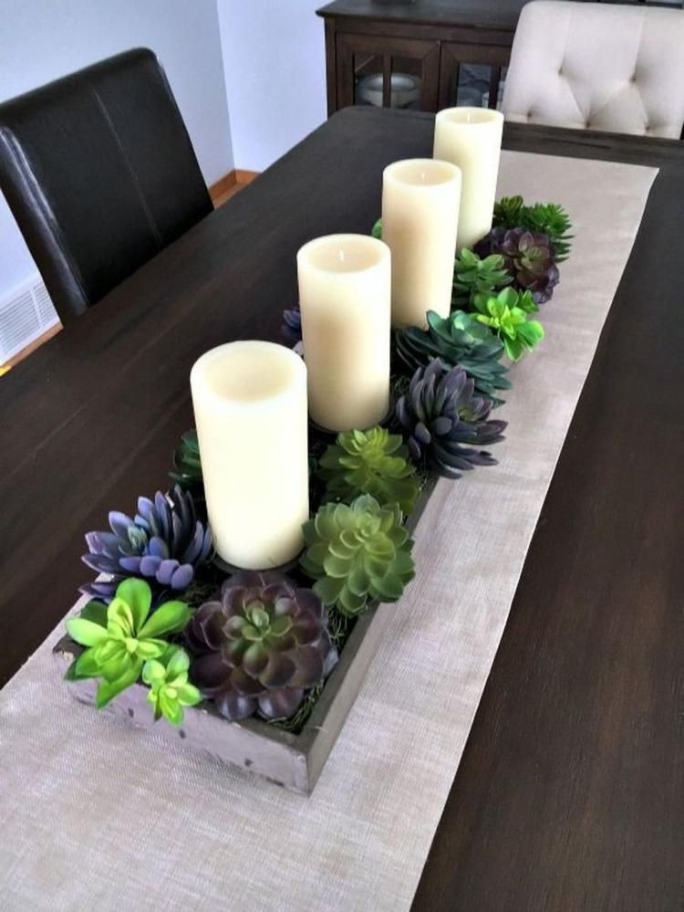 Fabulous Spring Dining Room Table Centerpiece Ideas Dining Room Centerpiece Dining Table Centerpiece Kitchen Table Centerpiece Candles