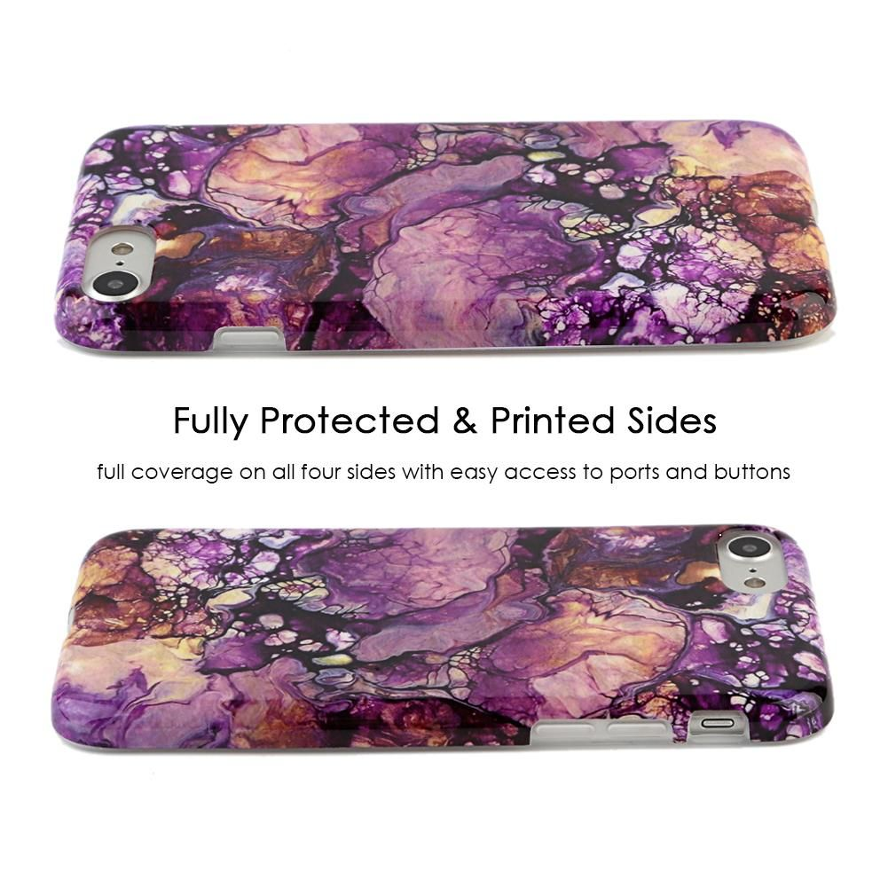 Purple Galaxy Marble Iphone Case Marble Iphone Case