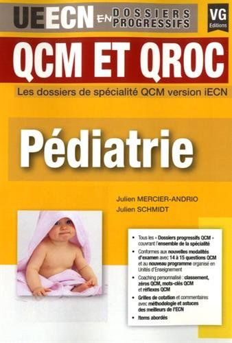 Pediatrie Qcm Et Qroc Medical Science Pdf Books