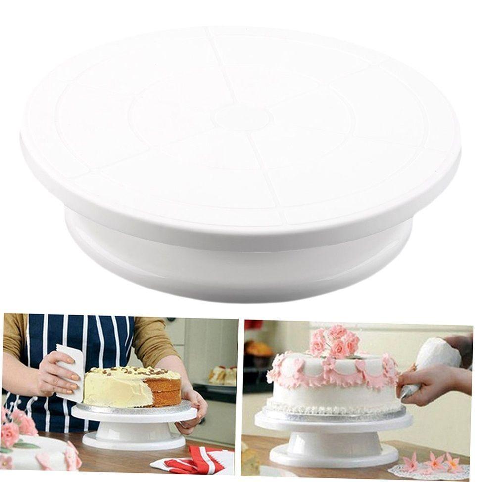 11 28cm cake making turntable rotating decorating platform