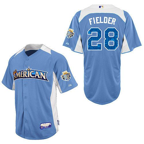 hot sale online 9bb56 7d818 American League Authentic Prince Fielder 2012 All-Star BP ...