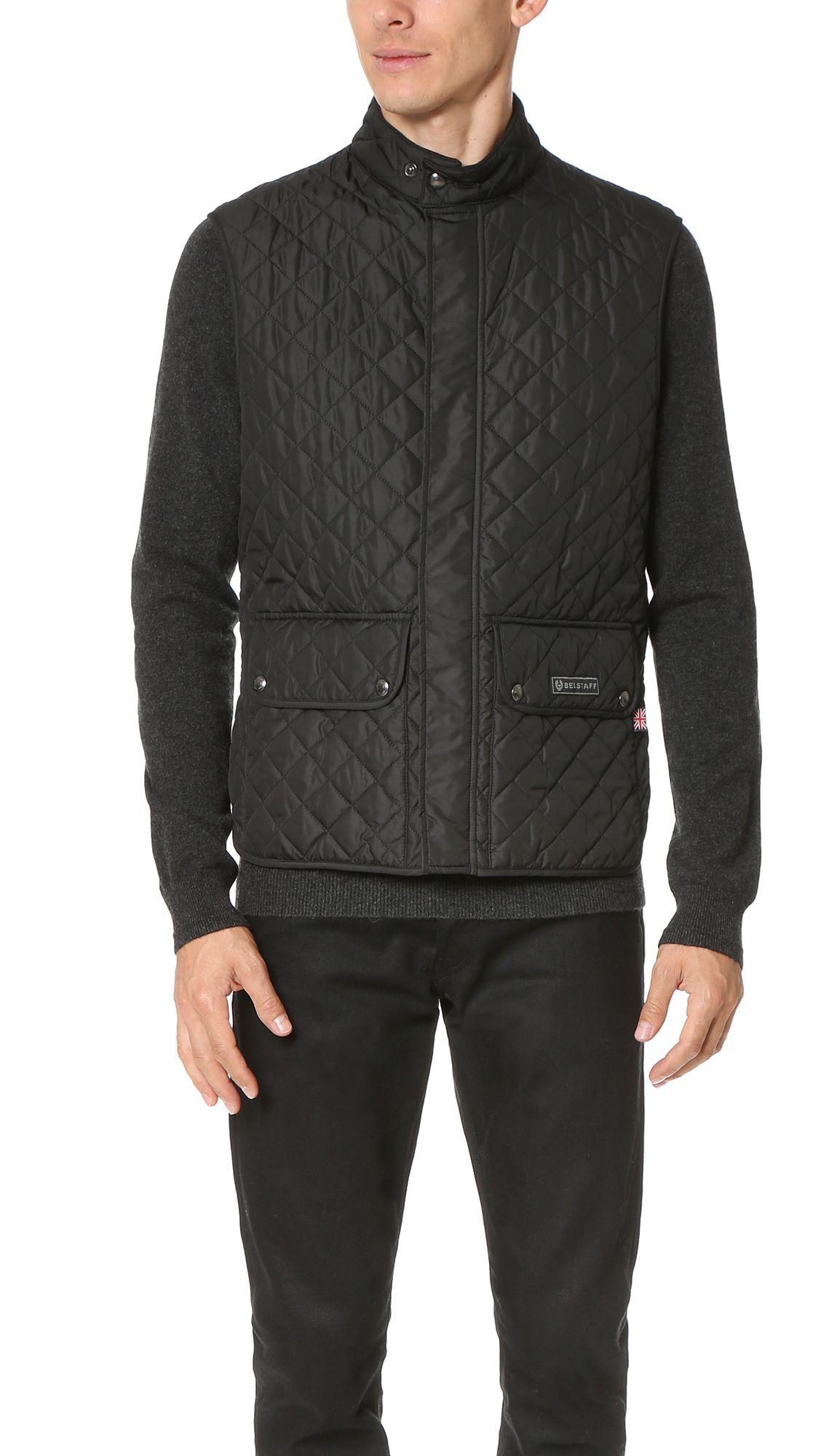 BELSTAFF Quilted Vest. #belstaff #cloth #vest | Belstaff Men ... : cheap quilted vest - Adamdwight.com