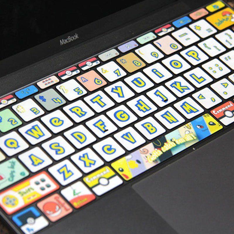Geeky christmas cards keyboard stickers macbook