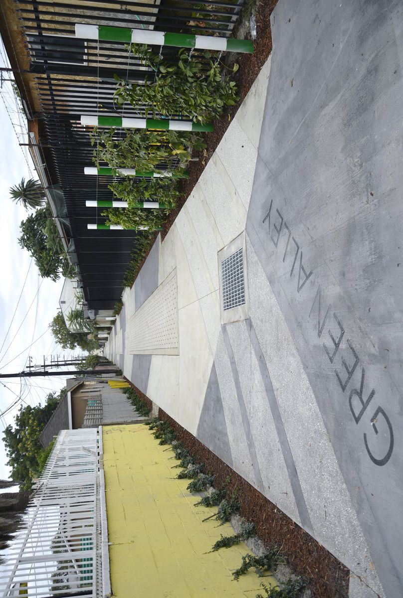 BASE Landscape Architecture, Green Alley