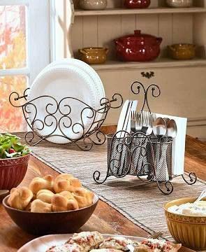 buffet caddy set & buffet caddy set | Casual Entertaining | Pinterest
