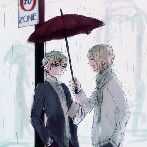Hetalia - France / England (FrUk) OMG it look like a part of Two Weeks Of Sunshine, I think it one of the best FrUk fanfictions